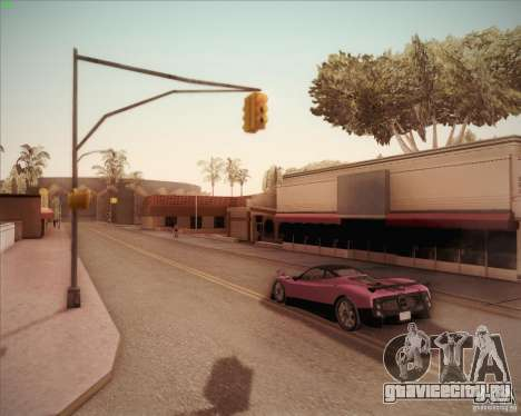 Pagani Zonda F V1.0 для GTA San Andreas вид сзади
