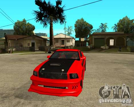 Ford Mustang Red Mist Mobile для GTA San Andreas вид сзади