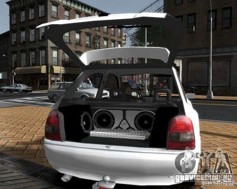 Opel Corsa B Tuning для GTA 4 вид слева