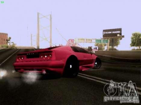 Lotus Esprit V8 для GTA San Andreas вид сзади