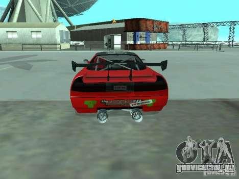 Infernus Drift Edition для GTA San Andreas вид сзади слева