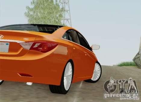 Hyundai Sonata 2012 для GTA San Andreas колёса