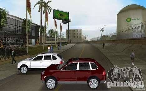 Porsche Cayenne для GTA Vice City вид изнутри