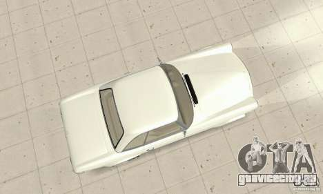 Mercedes-Benz 280SL (глянцевый) для GTA San Andreas вид справа