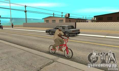 Noxon Jump Bmx для GTA San Andreas вид справа