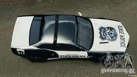 NFSOL State Police Car для GTA 4 вид справа