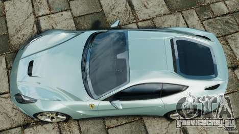 Ferrari F12 Berlinetta 2013 [EPM] для GTA 4 вид справа