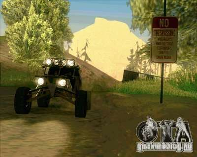 Ickler Jimco Buggy для GTA San Andreas вид сбоку