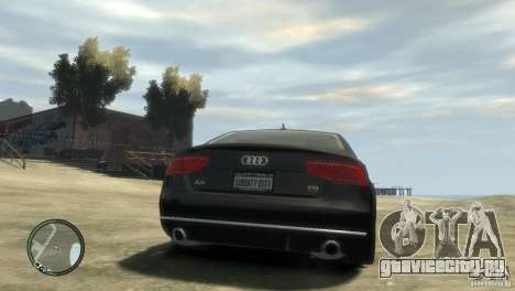 Audi A8 V8 FSI для GTA 4 вид слева