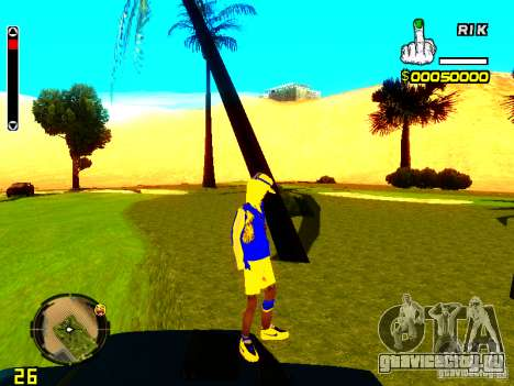 Skin бомжа v2 для GTA San Andreas четвёртый скриншот