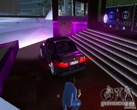 BMW M5 E34 1990 для GTA Vice City вид слева