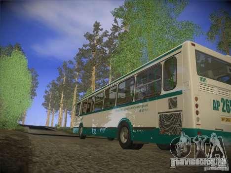 ЛиАЗ-5256.26 v.2.1 для GTA San Andreas вид изнутри