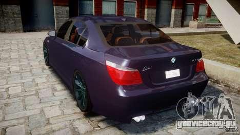 BMW M5 Lumma Tuning [BETA] для GTA 4 вид сзади слева