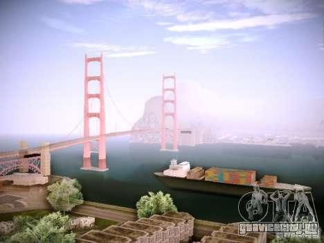 New ENBSeries для GTA San Andreas пятый скриншот