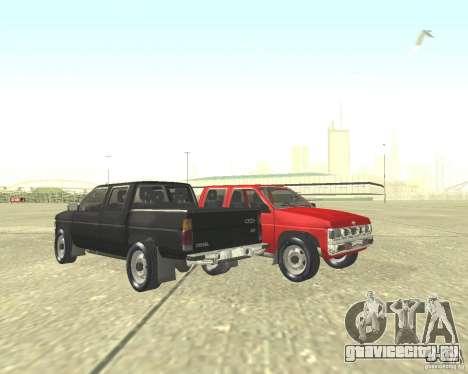 Nissan Datsun для GTA San Andreas вид сзади слева