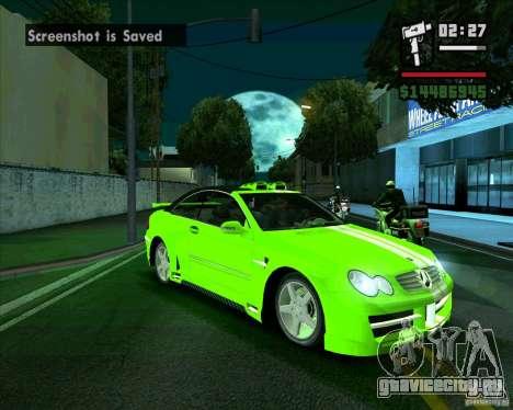 Mercedes-Benz CLK500 для GTA San Andreas