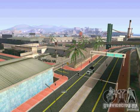 Новые Текстуры Лос-Сантоса для GTA San Andreas
