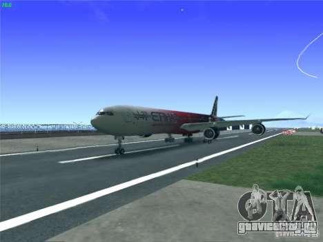 Airbus A340-600 Etihad Airways F1 Livrey для GTA San Andreas