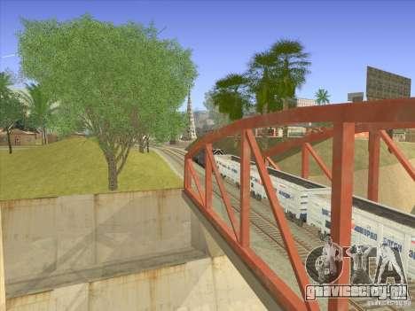 Полувагон 12-196-01 для GTA San Andreas вид справа