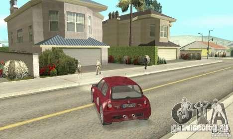 Renault Clio Phase 2 для GTA San Andreas вид слева