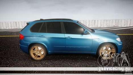 BMW X5 M-Power wheels V-spoke для GTA 4 вид изнутри