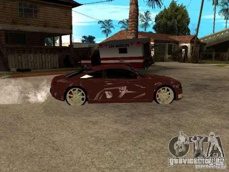 Audi Nuvolari Quattro для GTA San Andreas вид слева