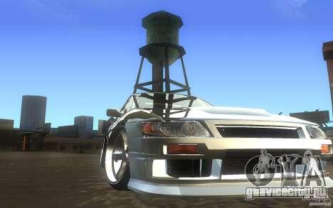 Nissan Silvia S13 Odyvia для GTA San Andreas вид сзади