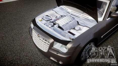 Chrysler 300C 2005 для GTA 4 вид изнутри