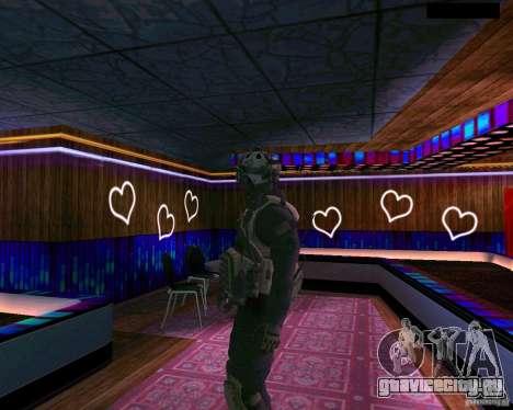 Второй скин солдата из CoD MW 2 для GTA San Andreas третий скриншот