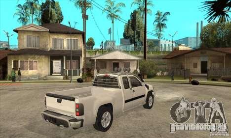GMC Sierra для GTA San Andreas вид справа