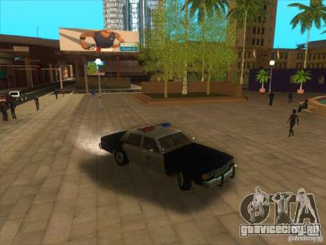 Chevrolet Caprice Interceptor LAPD 1986 для GTA San Andreas