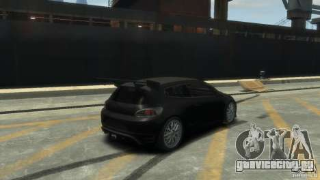 Volkswagen Scirocco GT-24 для GTA 4 вид справа