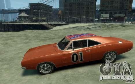 Dodge Charger General Lee v1.1 для GTA 4