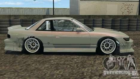 Nissan Silvia S13 DriftKorch [RIV] для GTA 4 вид слева