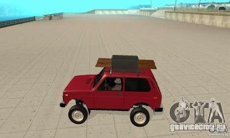 ВАЗ 2121 Нива для GTA San Andreas вид слева