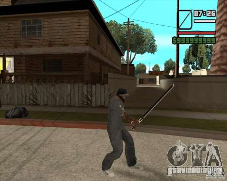 Sasuke sword для GTA San Andreas третий скриншот