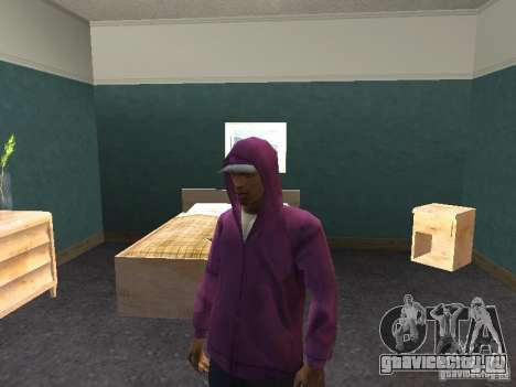 Капюшон для GTA San Andreas пятый скриншот