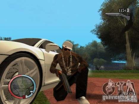 GTA IV HUD Final для GTA San Andreas
