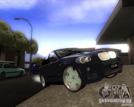 BMW X5 dubstore для GTA San Andreas вид сверху
