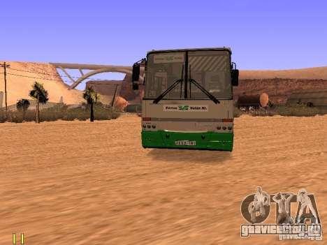 Ikarus C63 для GTA San Andreas вид справа