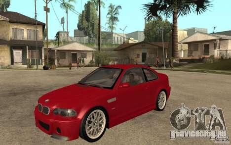 BMW M3 CSL для GTA San Andreas