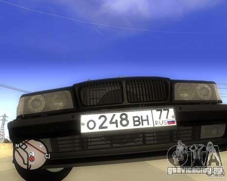 BMW 740il e38 для GTA San Andreas вид справа