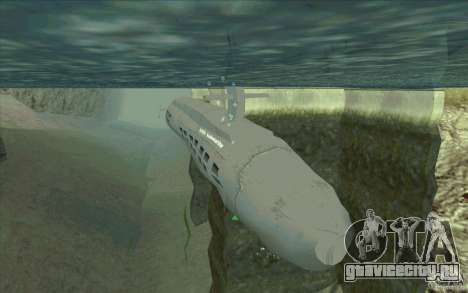 USS Submarine Beta для GTA San Andreas
