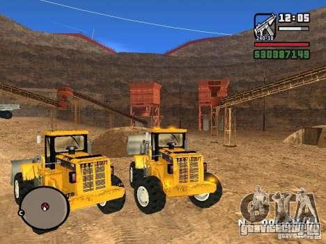 Caterpillar T530 для GTA San Andreas вид справа