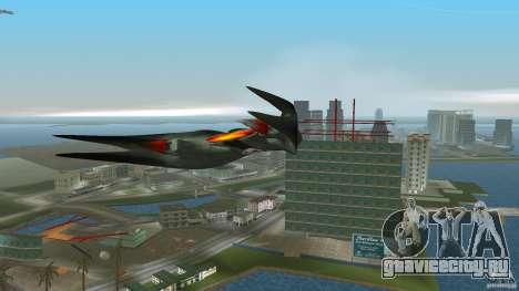 VX 574 Falcon для GTA Vice City вид сзади слева