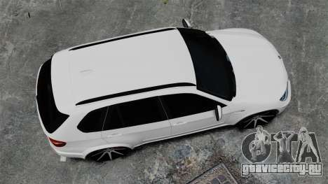 BMW X5M для GTA 4 вид справа