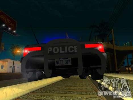 San-Fierro Sultan Copcar для GTA San Andreas вид сбоку