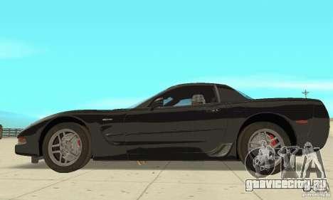Chevrolet Corvette 5 для GTA San Andreas вид сзади слева