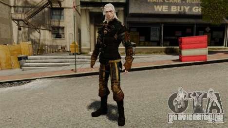 Геральт из Ривии v3 для GTA 4
