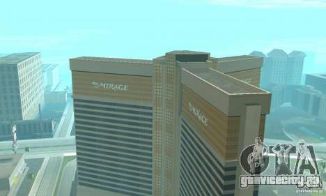 Welcome to Las Vegas для GTA San Andreas третий скриншот